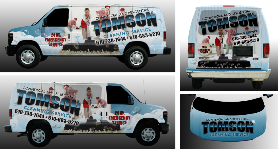 Cargo Van Wrap Design