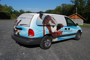 Voyager Vehicle Wrap
