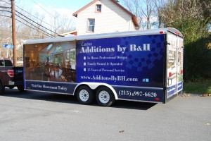 Doylestown Cargo Trailer Wrap