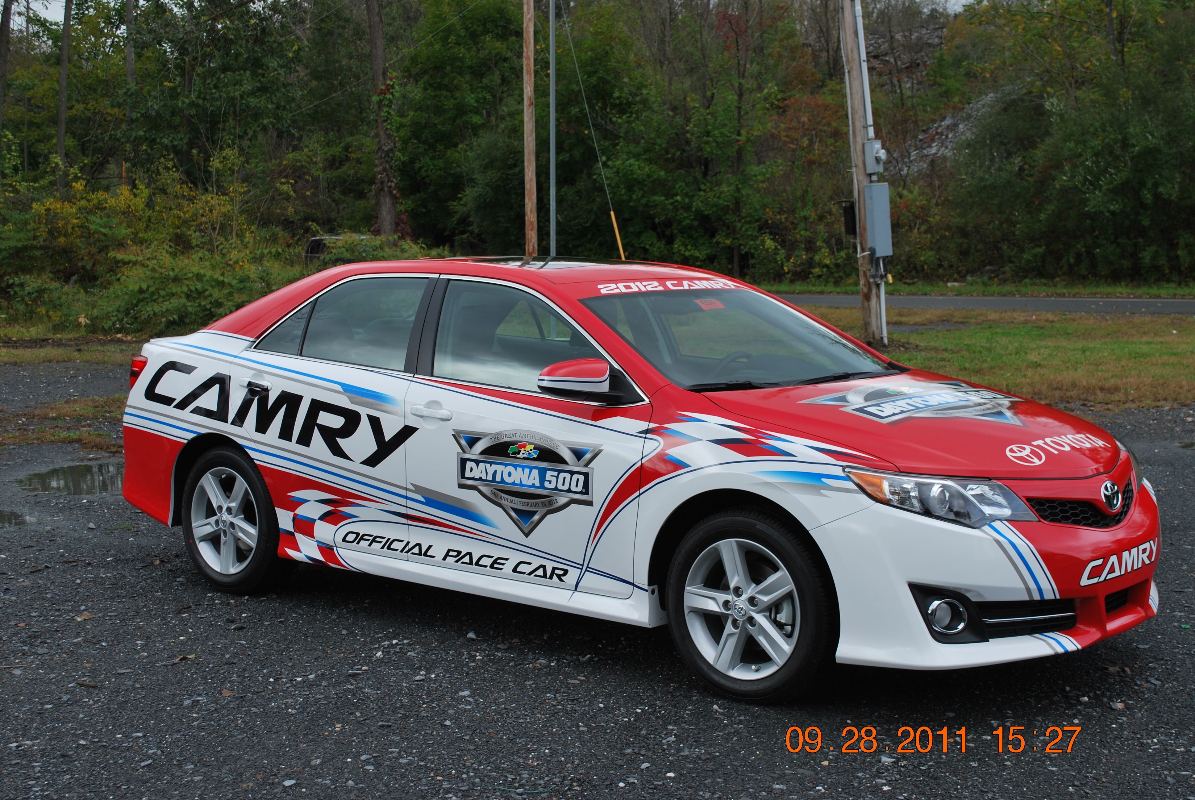 Toyota Scion Camry Pace Car Wrap In Scranton Idwraps