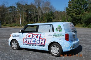 Scion XB Car Wrap