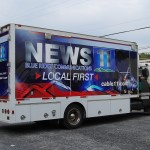 Blue Ridge 11 TV Production Utility Truck Palmerton Allentown Bethlehem