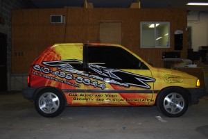 Ford Fiesta Car Wrap
