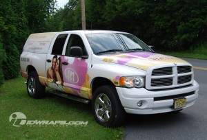 Truck Wrap for Hollywood