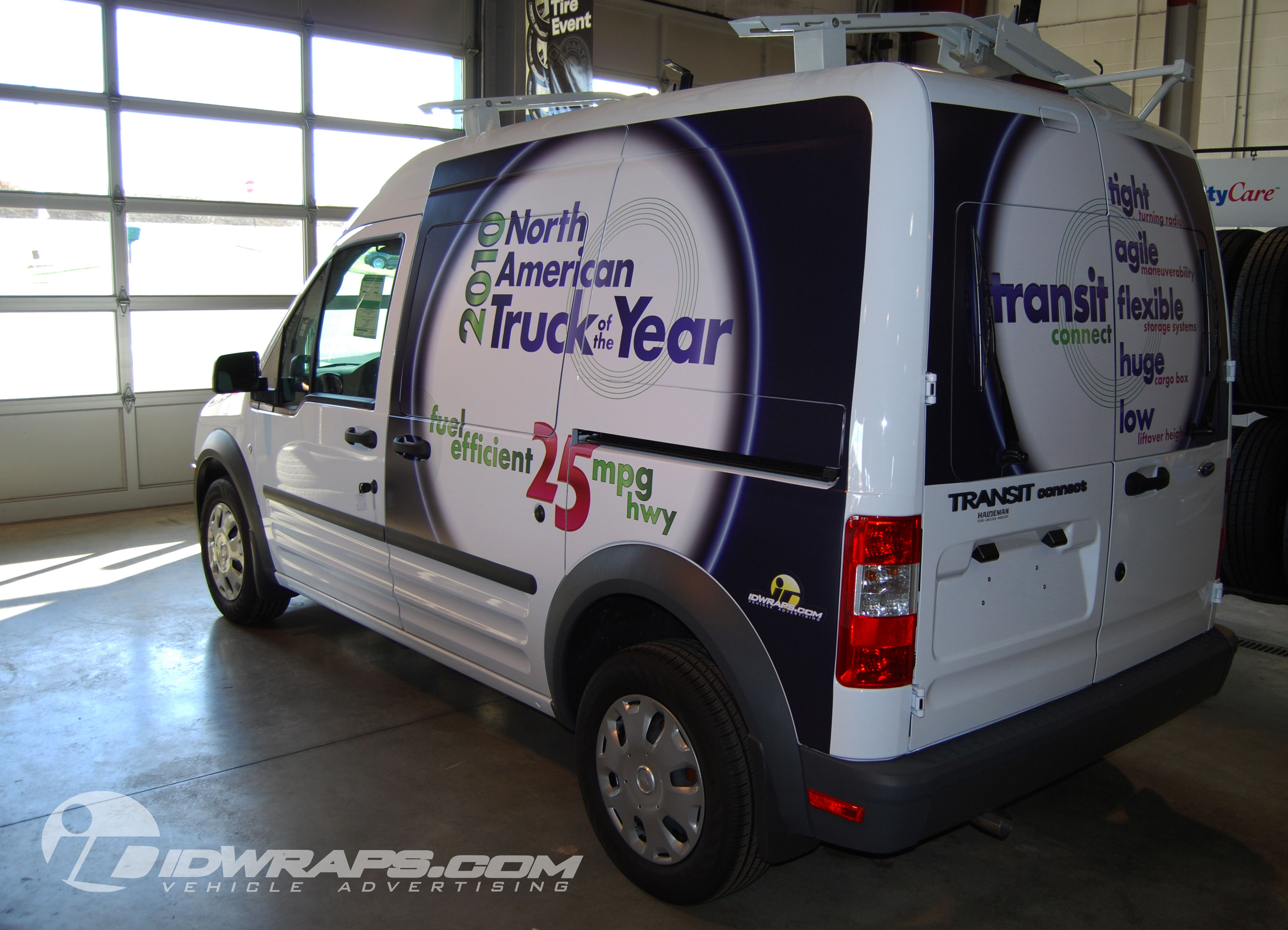 Ford Transit Connect Cargo Van Wrap In Kutztown PA - Haldeman ford car show