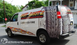 Savannah Cargo Van Wrap