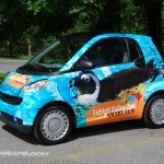 LEHIGH VALLEY ZOO SMART CAR WRAP ALLENTOWN PA