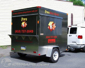 trailer lettering for business