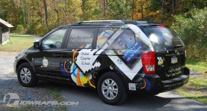 Vehicle Wrap for School