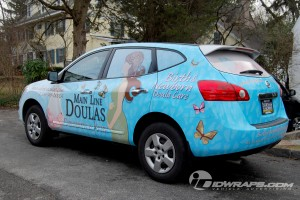 Nissan Rogue Wrap