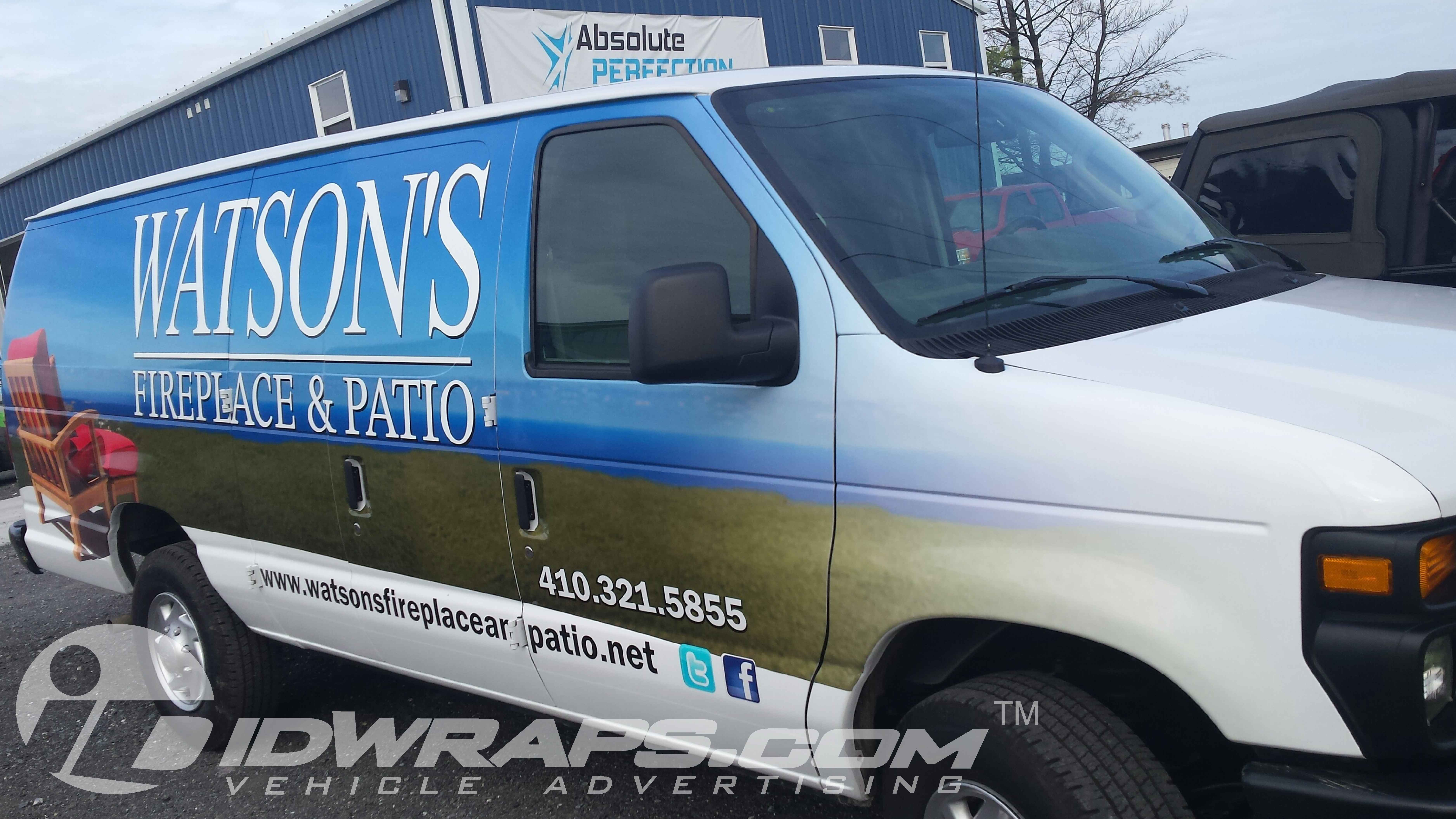 Fireplace and Patio E250 3M Certified Vinyl Wrap - IDwraps