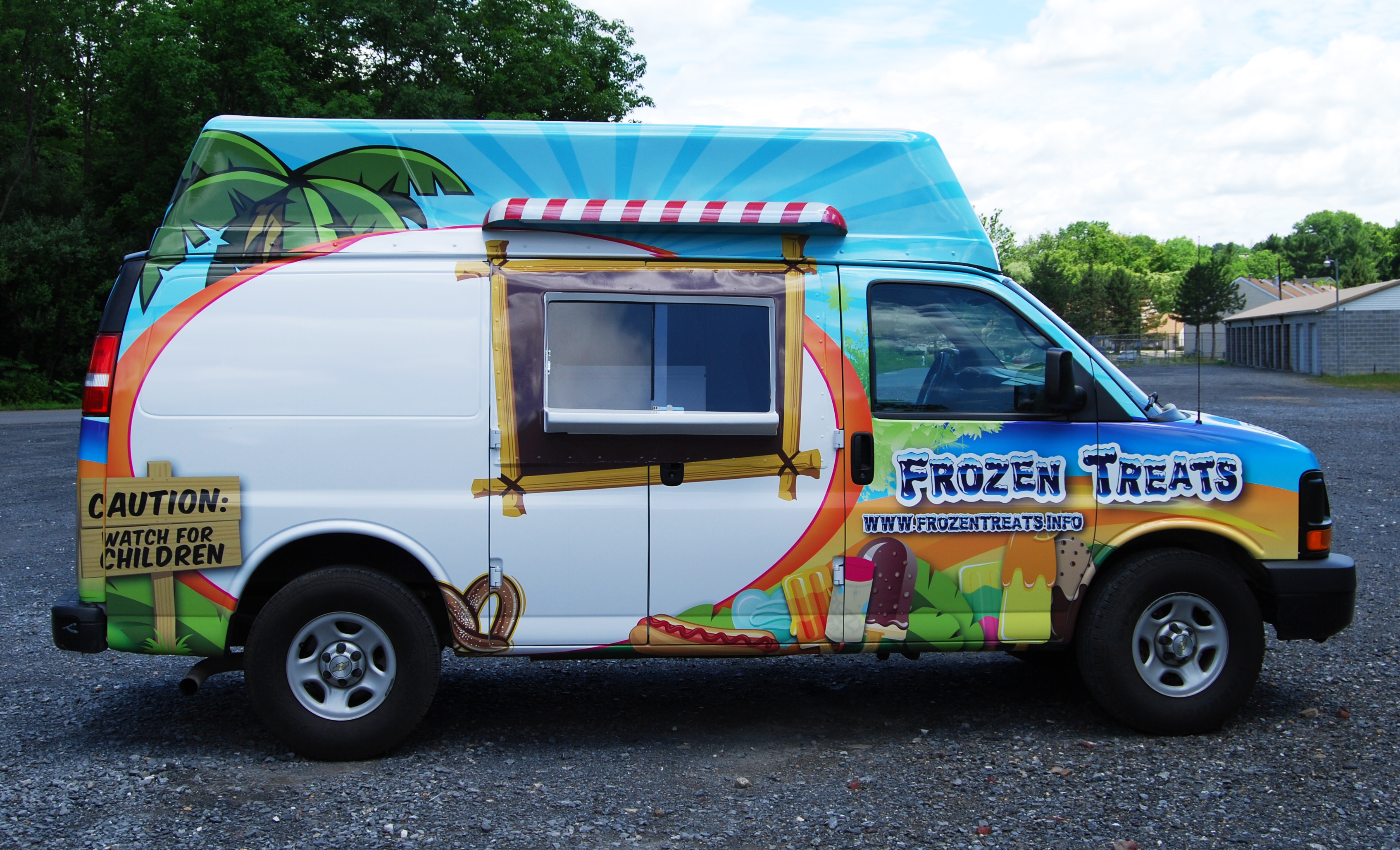 Ice Cream truck wrap