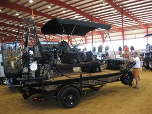 Wrapped Airboat