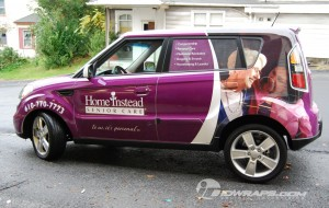 Car Wrap for Home Instead