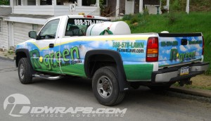 Chevy Pickup Truck Wrap