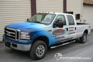 Ford F350 Truck Wrap