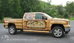 Truck Wrap for Furniture Dealer