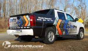 suv car wrap