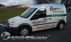 Vinyl Wrap for Pharmacy