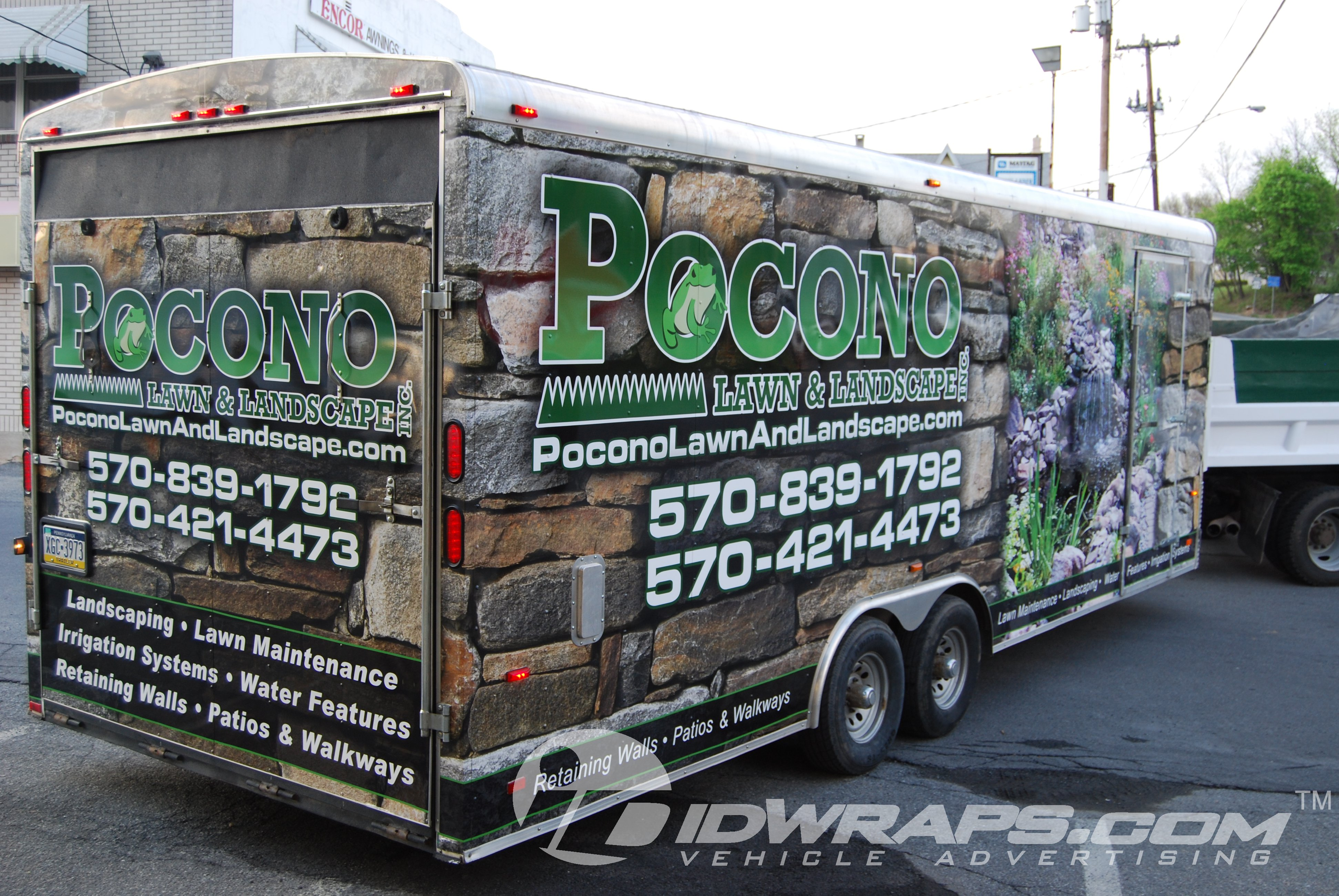 ideas to clean garage - Pocono Lawn and Landscape Lanscaping Enclosed Cargo