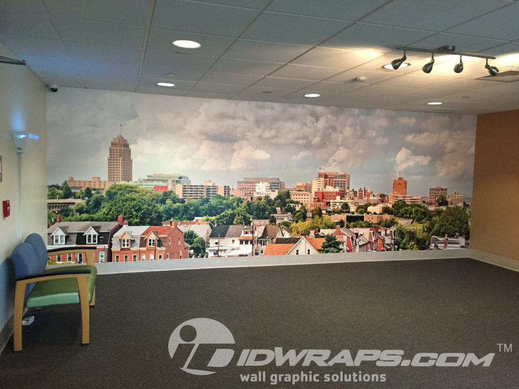 Hospital Wall Mural Graphic Allentown