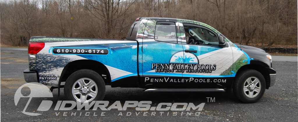 Penn Valley Pools boosts sales with a pool company wrap