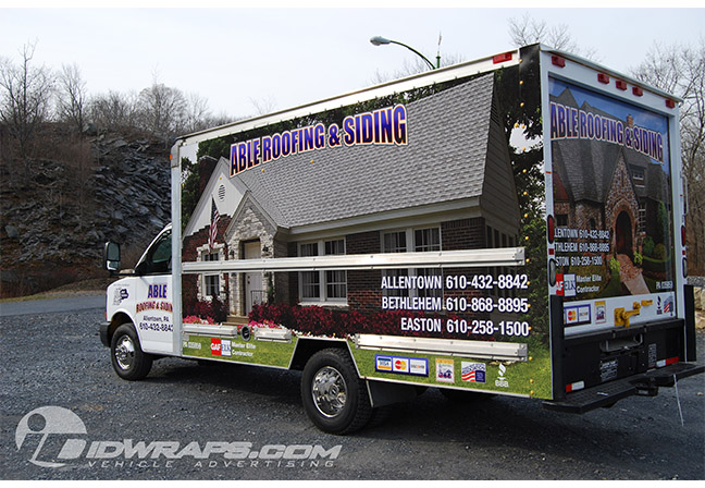 able-roofing-box-truck-wrap