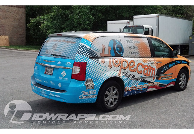 hopecam-chrysler-town-and-country-van-wrap