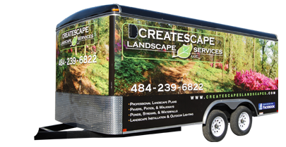 Createscape Landscape Services Trailer Wrap