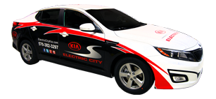 Electric City Kia Optima Wrap