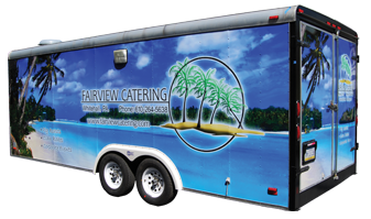 Fairview Catering Trailer Wrap