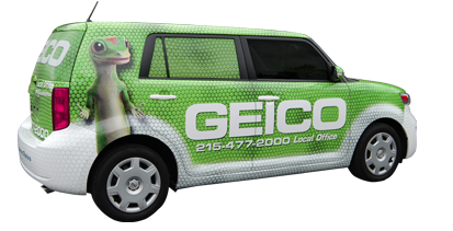 Geico Scion xB Wrap