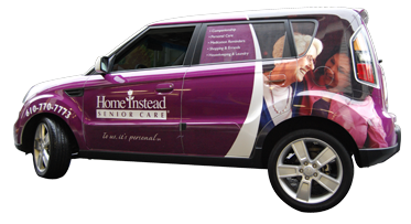 Home Instead Kia Soul Wrap
