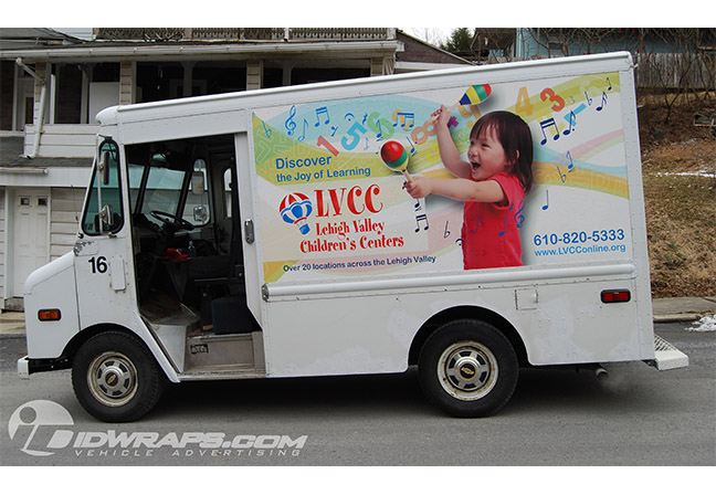 lvcc-lehigh-valley-childrens-centers-truck-wrap