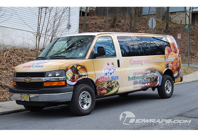 red-hot-and-blue-chevy-express-van-wrap