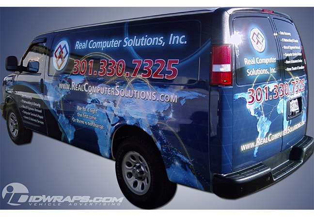 real-computer-solutions-chevy-van-wrap