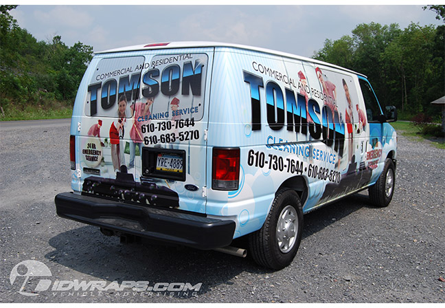 tomson-cleaning-service-ford-e250-wrap