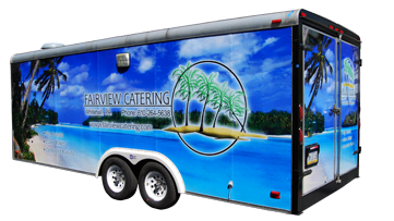 Fairview Catering Custom Wrap