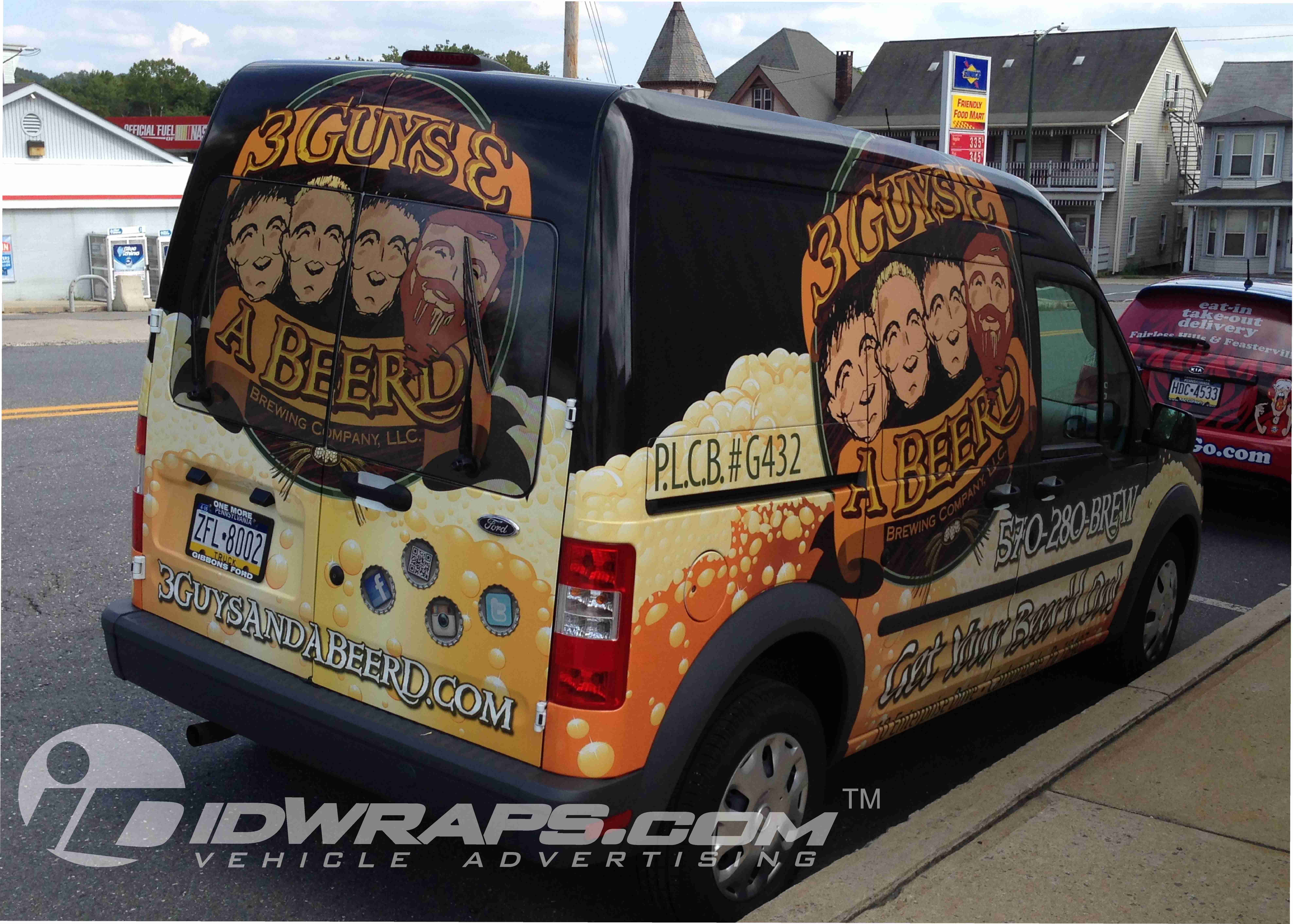 three-guys-and-a-beerd-transit-connect-wrap
