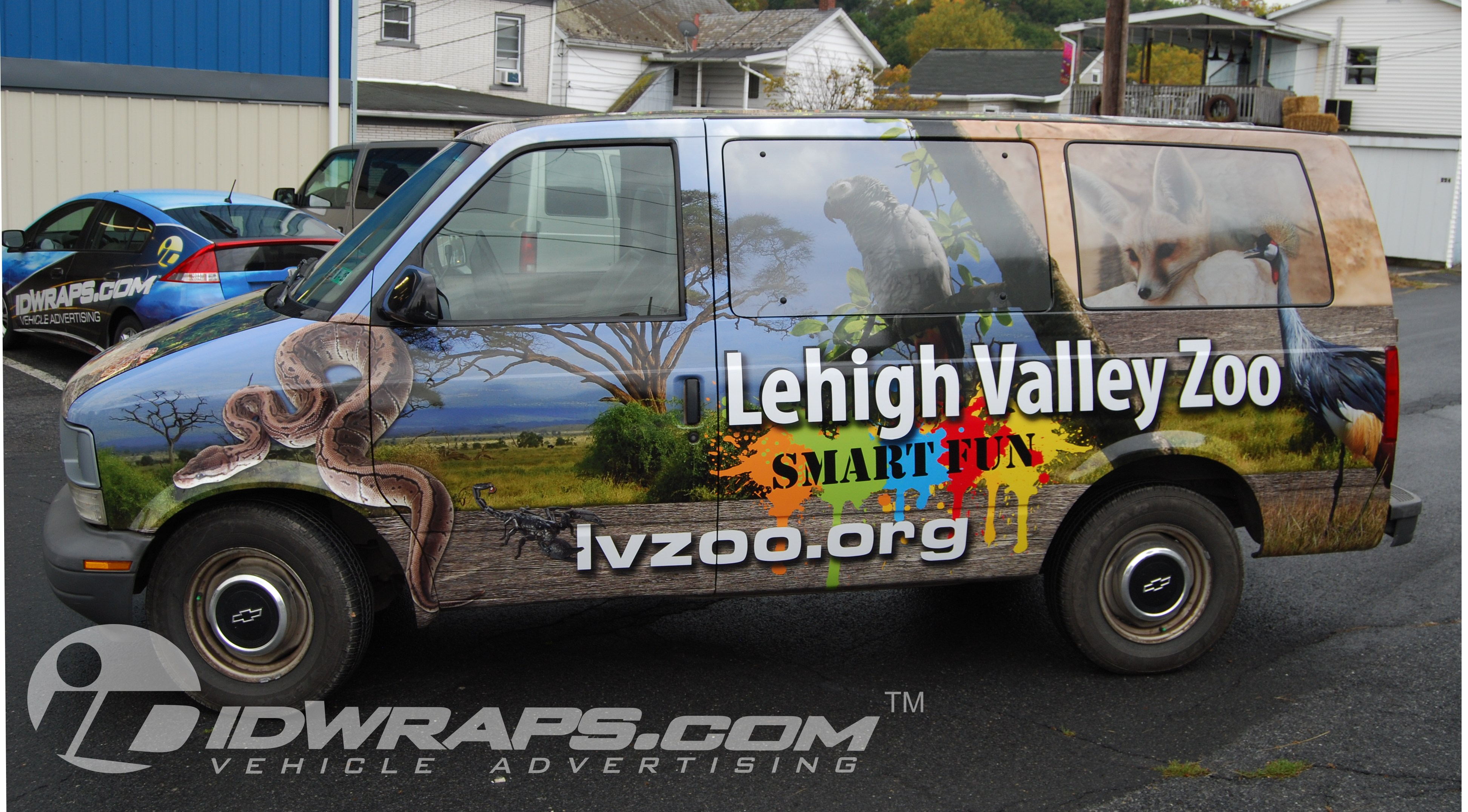 lehigh-valley-zoo-auto-wrapping-chevy-astro-van-3m-graphics